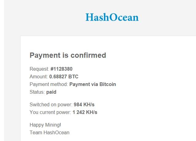 hasocean deposit