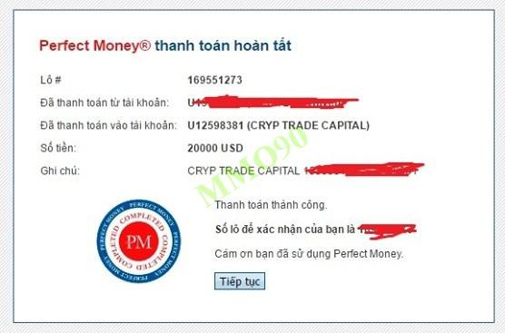 đầu tư CRYP TRADE CAPITAL HOLDING