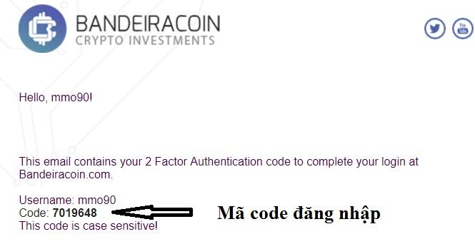 đăng nhập bandeiracoin