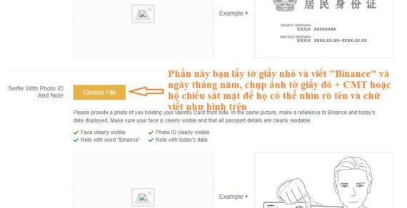 Hướng dẫn đăng ký và Xác minh tài khoản sàn Binance