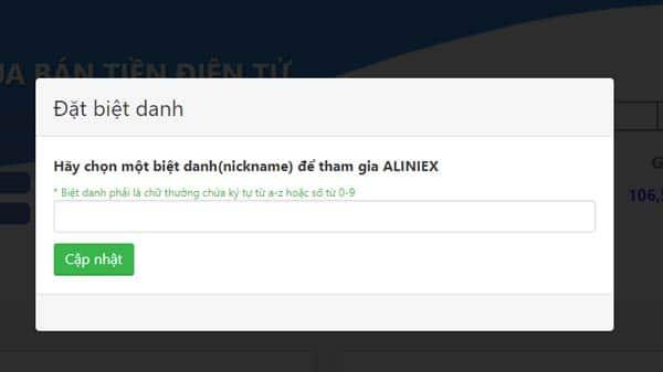 dat biet danh aliniex