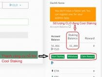 Cách sử dụng Cool Staking cho Callisto Coin để nhận lãi hàng tháng