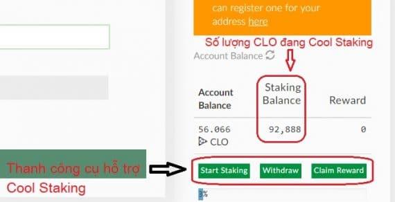 Hướng dẫn Cold Staking cho Callisto Coin để nhận lãi hàng tháng