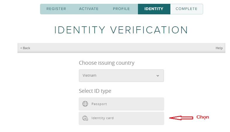 ID verification email đăng ký poloniex