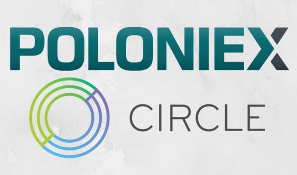 san bitcoin Poloniex Circle