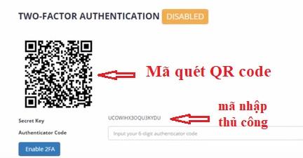 sao lưu backup thủ công 2fa authy Authenticator
