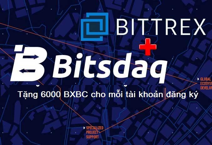 airdrop 6000 BXBC Bitsdaq bittrex