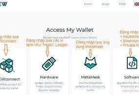 Cách đăng ký và Sử dụng ví MyEtherWallet năm 2019