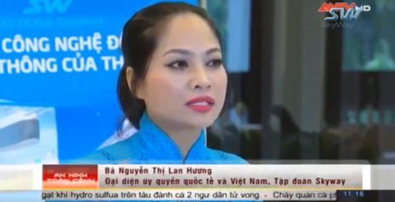 Đài truyền hình ANTV nói về mô hình giao thông Skyway