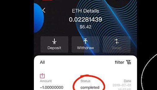Hướng dẫn rút tiền từ S block Wallet