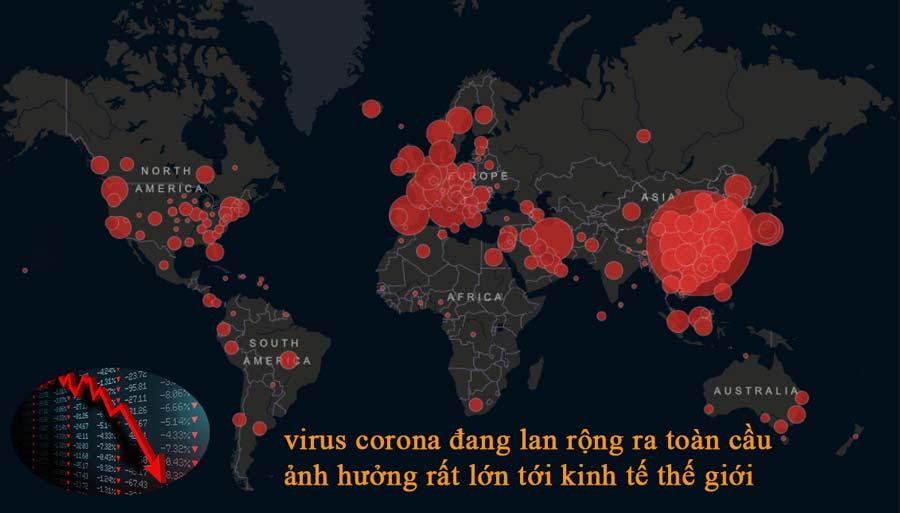 virus corola ảnh hưởng tới nền kinh tế thế giới
