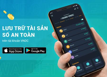 Ví tiền điện tử VNDC khuyến mại tặng 10.000 đ cho người dùng mới