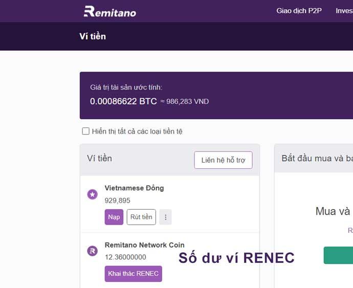 remitano network coin là gì