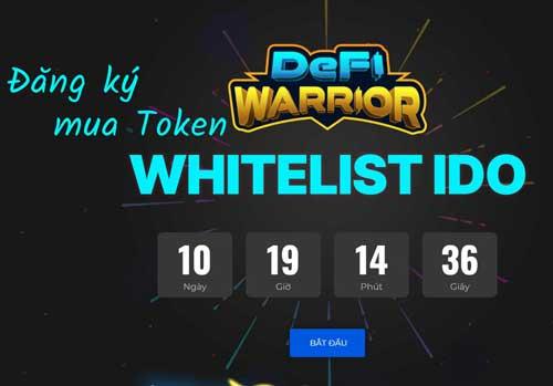 Hướng dẫn đăng ký whitelist mua ido DeFi Warrior trend game