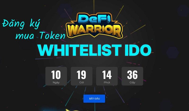 đăng ký whitelist mua ido DeFi Warrior
